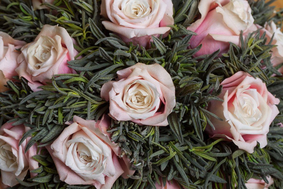 Balzamované květiny