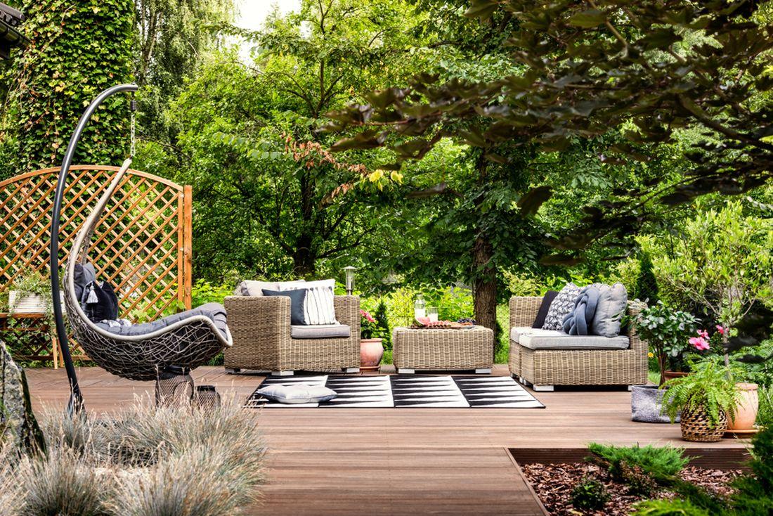 koberec do zahrady